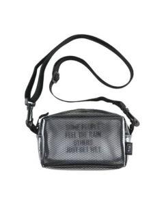 W.P.C. 日本KIU防撥水透明網紋斜背包 K103-908