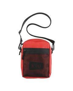 W.P.C. 日本KIU 600D防撥水拉鍊斜背包(紅色) K108-916