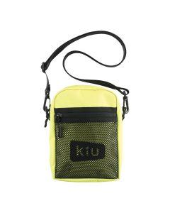 W.P.C. 日本KIU 600D防撥水拉鍊斜背包(黃色) K108-918
