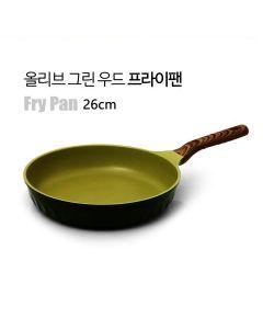 Kitchen Arisu - IH Olive Greenwood Frypan Series - Frypan 30CM KAIHF26CM