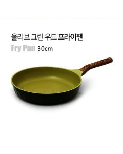 Kitchen Arisu - IH Olive Greenwood Frypan Series - 30CM 炸鍋 KAIHF30CM