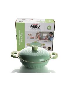 Kitchen Arisu - Aurora Pot Series - 28CM 雙耳鑊 (IH) KAIHWP28CM