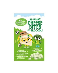 Kiwigarden NZ Organic Cheese Bites with Broccoli KG0670X