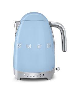 SMEG 復古可調溫電熱水壺-粉藍色-KLF04PBUK