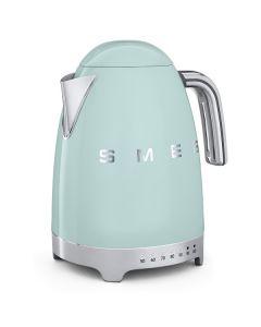 SMEG 復古可調溫電熱水壺, 粉綠色-KLF04PGUK