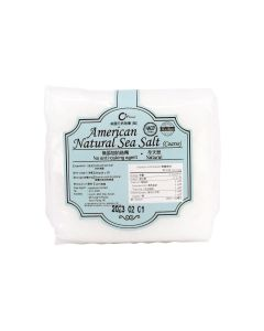O'Farm - American Natural Sea Salt (Coarse) KS1381