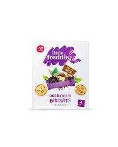 Little Freddie - Organic Oat & Raisin Biscuits (4 x 20g) LF3801X
