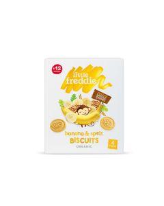 Little Freddie - Organic Banana & Spelt Biscuits (4 x 20g) LF3993X