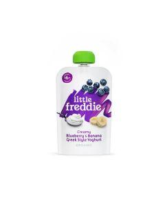 Little Freddie - Organic Creamy Blueberry & Banana Greek Style Yoghurt LF9810X
