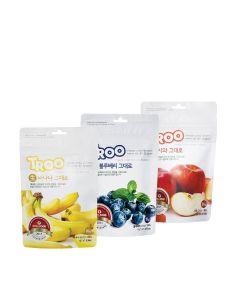TROO - 獲獎韓國天然冷凍乾果零食(香蕉+藍莓+蘋果) LIFE_FDF-BD5