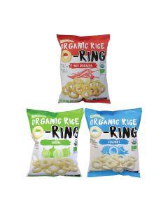 Ricelicious - 最美味大獎-有機低糖香糙米烘焙脆米小食零食(是拉差味)(洋蔥)(椰子) LIFE_ORO_SOC