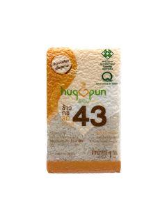 Hugpun - RD43 中低升糖 • 香軟嫰滑健康米(GI 57.5) LIFE_RD43