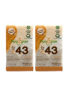 Hugpun - RD43 中低升糖 • 香軟嫰滑健康米(GI 57.5)優惠裝 LIFE_RD43X2