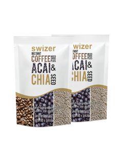 Swizer - 美肌.秀身.超營咖啡(嫩膚巴西莓+防皺骨膠原+補血螺旋藻+秀身有機奇亞籽) LIFE_SCACX2
