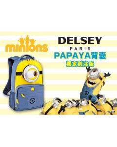Delsey - Minions PAPAYA背囊 (別注版) Minions_Backpack