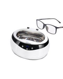 Lohas - MK-182 升級版超聲波眼鏡清洗機 (白)
