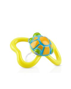 Nuby - 3D Paci-pals with Oval Baglet - Turtle NB5807MFSN-TU