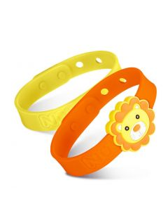 Nuby - Nuby All Natural Mosquito Repellent Bracelet - Lion NB78081-LION