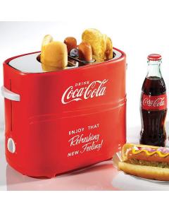Nostalgia Electrics Coca-Cola Retro Pop-Up Hot Dog Toaster HDT600coke
