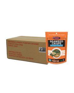 [原箱] 海苔脆片-南瓜籽芝麻味 1.2 oz (35 g) 包 -12 支