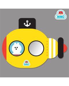 NINO韓國製兒童畫板壁貼鏡 – 黃色潛艇