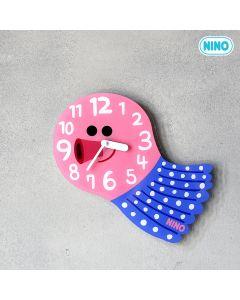 NINO韓國製童趣時鐘 – 八爪魚