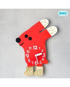 NINO韓國製童趣時鐘 – 小紅兔