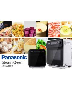 Panasonic [Star of Kitchen] 15L Multi-Functional Steam Oven NU-SC100W 香港行貨 NU-SC100W