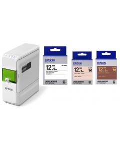 Epson 標籤帶套裝 -  送 Epson 打印機 (LW-C410)