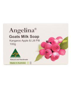 Angelina - Goats Milk Soap Kangaroo Apple & Lilli Pil PC2631
