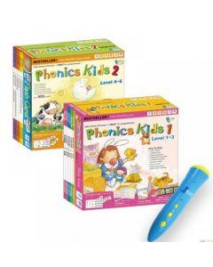RASS Language - iPEN Phonics Kids Jumbo Pack (Phonics Kids Pack 1&2 + 16GB iPen) 9789881513953
