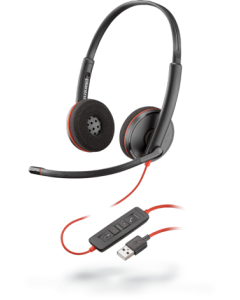 Plantronics Blackwire C3220 專業電腦有線耳機 (P209745-101)