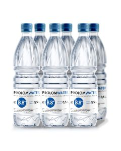 Prolom Water - Alkaline water PH8.8 (500ML) - Case Offer PLAP005