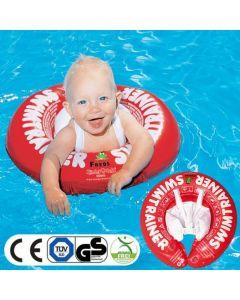 嬰幼兒學習游泳圈-紅色 F26557