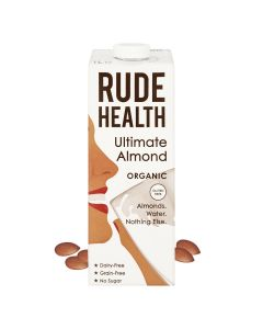 Rude Health - 有機無糖杏仁素奶