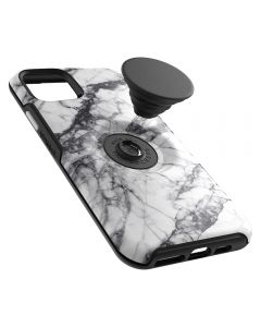 OTTER+POP SYMMETRY SERIES CASE FOR IPHONE 11 PRO MAX - WHITE MARBLE