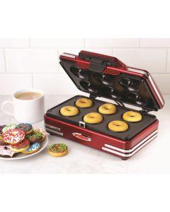 Nostalgia Electrics Retro Mini Donut Maker RMDM800 RMDM800