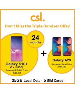 Csl. Samsung Handset Package - 25GB Local Data