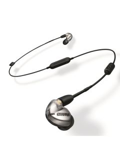 Shure 舒爾 SE425 專業隔音耳筒, w/ UNI + RMCE-BT1 - 銀色 (SE425-V+BT1-A)