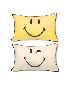 AIRLAND - Smiley Cotton pillow case x2 SH1PL0000