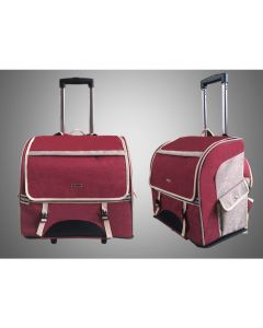 Convene - Pet Carrier Backpack with Wheels RED SL1205002