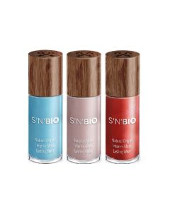 SNBIO 天然植物性指甲油3支裝柔和系列 SNB515001