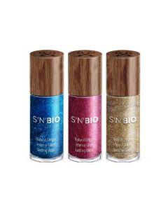 SNBIO 天然植物性指甲油3支裝閃亮系列 SNB515002