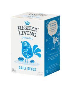 Higher Living -  Organic Teas Daily Detox  TB-HLDET415