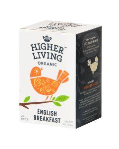 Higher Living -  Organic Teas English Breakfast  TB-HLEB420