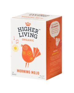 Higher Living -  Organic Teas Morning Mojo  TB-HLMOMO415
