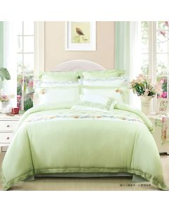 AIRLAND - Tencl embroidered bedding set 4pcs -TH132 TH132H3SET