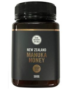 The Honey Store MGO 550+ Manuka Honey 500g THS-550-500GM