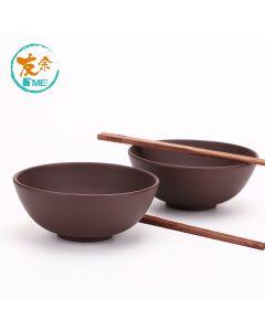 友余 - 手工紫砂碗筷套裝 (紫泥) TPC-03-BR