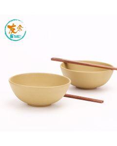 友余 - 手工紫砂碗筷套裝 (段泥) TPC-03-YE